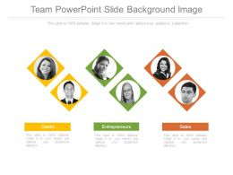 Team Powerpoint Slide Background Image