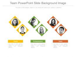 Team Powerpoint Slide Background Image