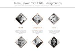Team Powerpoint Slide Backgrounds