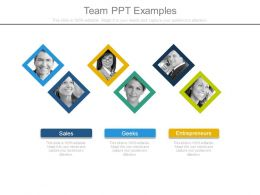 Team Ppt Examples