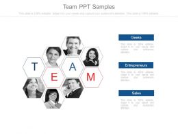 Team Ppt Samples