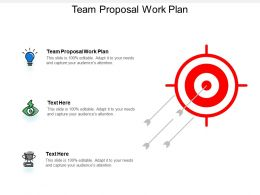 Team Proposal Work Plan Ppt Powerpoint Presentation Ideas Microsoft Cpb