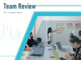 Team Review Performance Review Involvement Success Quantify