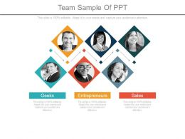 Team Sample Of Ppt