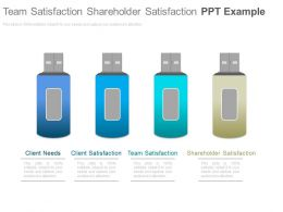 Team Satisfaction Shareholder Satisfaction Ppt Example