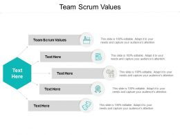 Team Scrum Values Ppt Powerpoint Presentation Show Layout Cpb