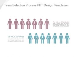 Team Selection Process Ppt Design Templates