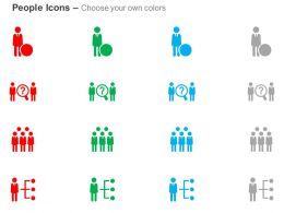 Team Selection Resource Search-Hierarchy Ppt Icons Graphics