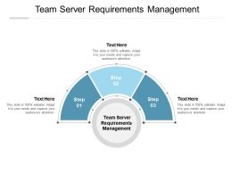 Team Server Requirements Management Ppt Powerpoint Presentation Slide Cpb