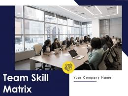 Team Skill Matrix Powerpoint Presentation Slides