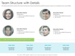 Team Structure With Details Techniques Reduce Customer Onboarding Time