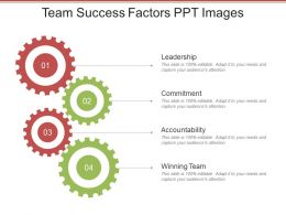 Team Success Factors Ppt Images
