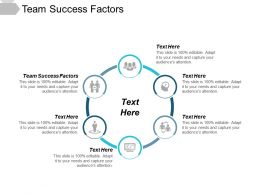 Team Success Factors Ppt Powerpoint Presentation Show Skills Cpb