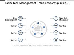 Team Task Management Traits Leadership Skills Best Personal Management Cpb