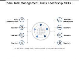 Team Task Management Traits Leadership Skills Best Personal Management Cpb