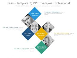 Team Template3 Ppt Examples Professional