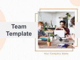 Team Template Designation Along Skills Hierarchy Board Company