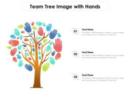 Team Tree Image With Hands