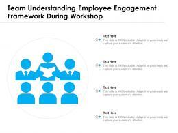 Team Understanding Employee Engagement Framework During Workshop