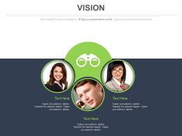 Team With Business Vision Analysis Powerpoint Slides