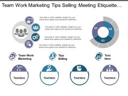 Team Work Marketing Tips Selling Meeting Etiquette Tips Cpb