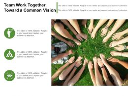 Team Work Together Toward A Common Vision