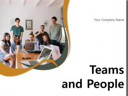 Teams And People Business Partnership Collaboration Inspirational Conference