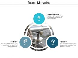Teams Marketing Ppt Powerpoint Presentation Gallery Introduction Cpb