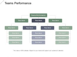 Teams Performance Ppt Powerpoint Presentation Gallery Designs Download Cpb