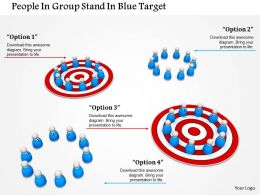 Teams With Business Targets Ppt Graphics Icons