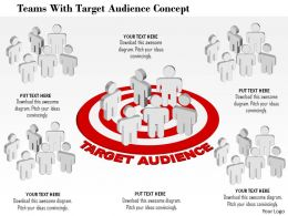 teams_with_target_audience_concept_powerpoint_template_Slide01