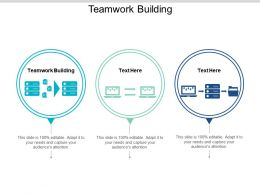 Teamwork Building Ppt Powerpoint Presentation Summary Information Cpb