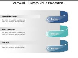 Teamwork Business Value Proposition Online Business Etiquette Tips Cpb