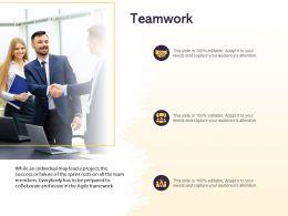 Teamwork Collaborate Ppt Powerpoint Presentation Slides Files
