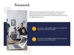 Teamwork Collaborate Ppt Powerpoint Presentation Summary Guide