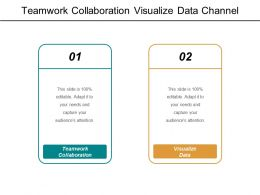 Teamwork Collaboration Visualize Data Channel Distribution Working Board Cpb