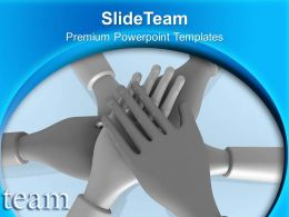 Teamwork Concept Unity Powerpoint Templates Ppt Themes And Graphics 0313