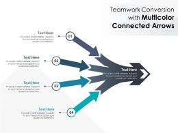 Teamwork Conversion With Multicolor Connected Arrows