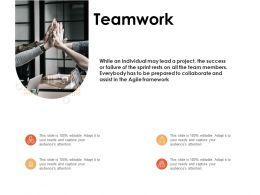 Teamwork Introduction Ppt Powerpoint Presentation Ideas Designs
