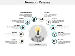 Teamwork Revenue Ppt Powerpoint Presentation Portfolio Graphic Images Cpb