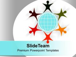 Teamwork Star Isolated On White Background Powerpoint Templates Ppt Themes And Graphics 0113