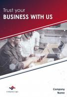 Tech Consulting Four Page Brochure Template
