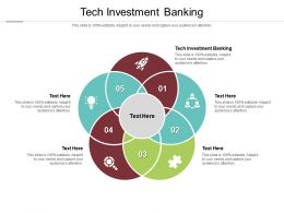 Tech Investment Banking Ppt Powerpoint Presentation Styles Example Cpb