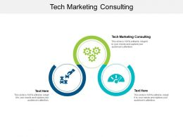 Tech Marketing Consulting Ppt Powerpoint Presentation Summary Introduction Cpb