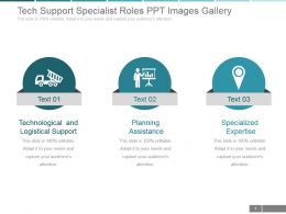 Tech Support Specialist Roles Ppt Images Gallery