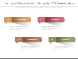 Technical Administration Template Ppt Presentation