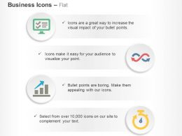 Technical Analysis Business Growth Indication Time Management Ppt Icons Graphics