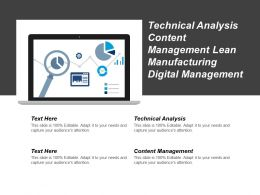 Technical Analysis Content Management Lean Manufacturing Digital Management Cpb