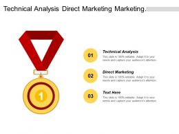 Technical Analysis Direct Marketing Management Business Opportunities Cpb
