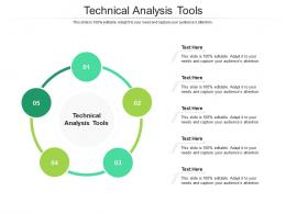 Technical Analysis Tools Ppt Powerpoint Presentation Gallery Example Introduction Cpb